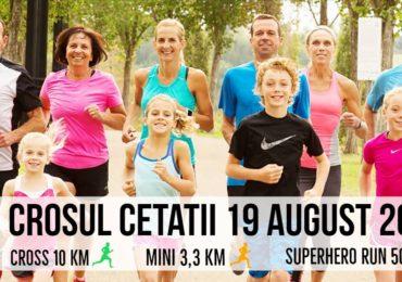 Duminica 19 august incepe Crosul Cetatii. Mai multe strazi vor fi inchise circulatiei, in Oradea