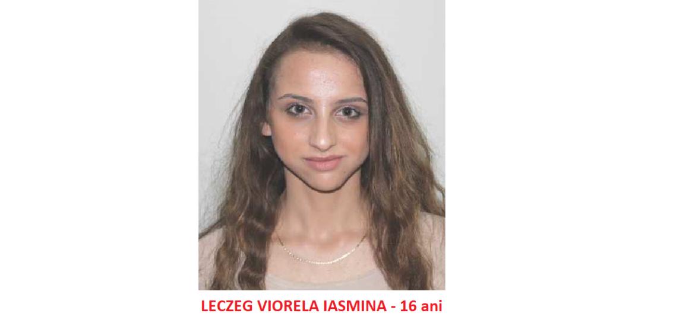 ALERTA! O minora de 16 ani, din judetul Bihor, este data disparuta de familia ei