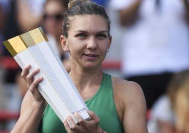 Simona Halep a castigat WTA Rogers Cup in finala cu Sloane Stephens, scor 7-6, 3-6, 6-4