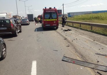 accident grav centura utilaj buldozer oradea