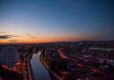 Sambata 25 august – Panorama de noapte in Turnul Primariei