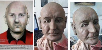 Il cunoasteti? Politistii oradeni au realizat o reconstructie faciala 3D a persoanei gasite inecata in Iosia