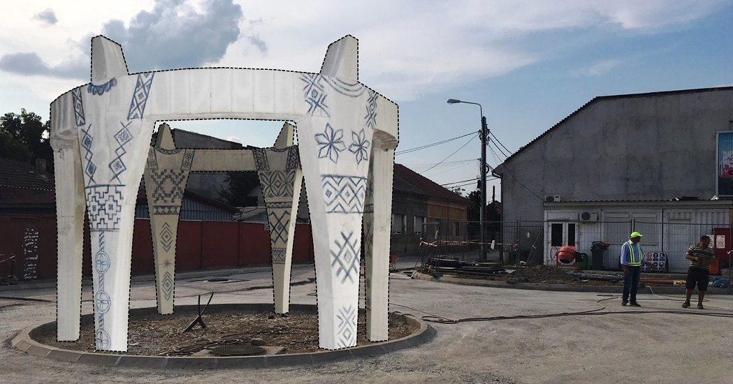 """Ansamblul statuar """"Hora Centenarului"""" a fost trimis spre avizare la Ministerul Culturii. Unde va fi el amplasat in Oradea"""