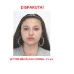 Minora de 15 ani din Saldabagiu de Barcau, disparuta de la domiciliu
