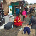 """Pompierii oradeni implicati in proiectul """"Doneaza Pasiune"""", proiect ce promoveaza donarea de sange"""