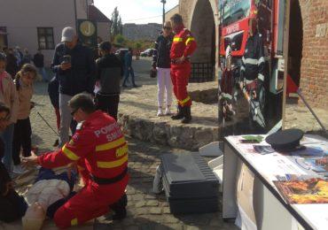 Doneaza pasiune pompieri Cetatea Oradea
