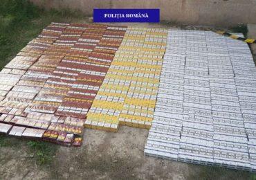 50.000 de tigarete nemarcate, confiscate de politistii bihoreni de la un conducator auto in Salonta