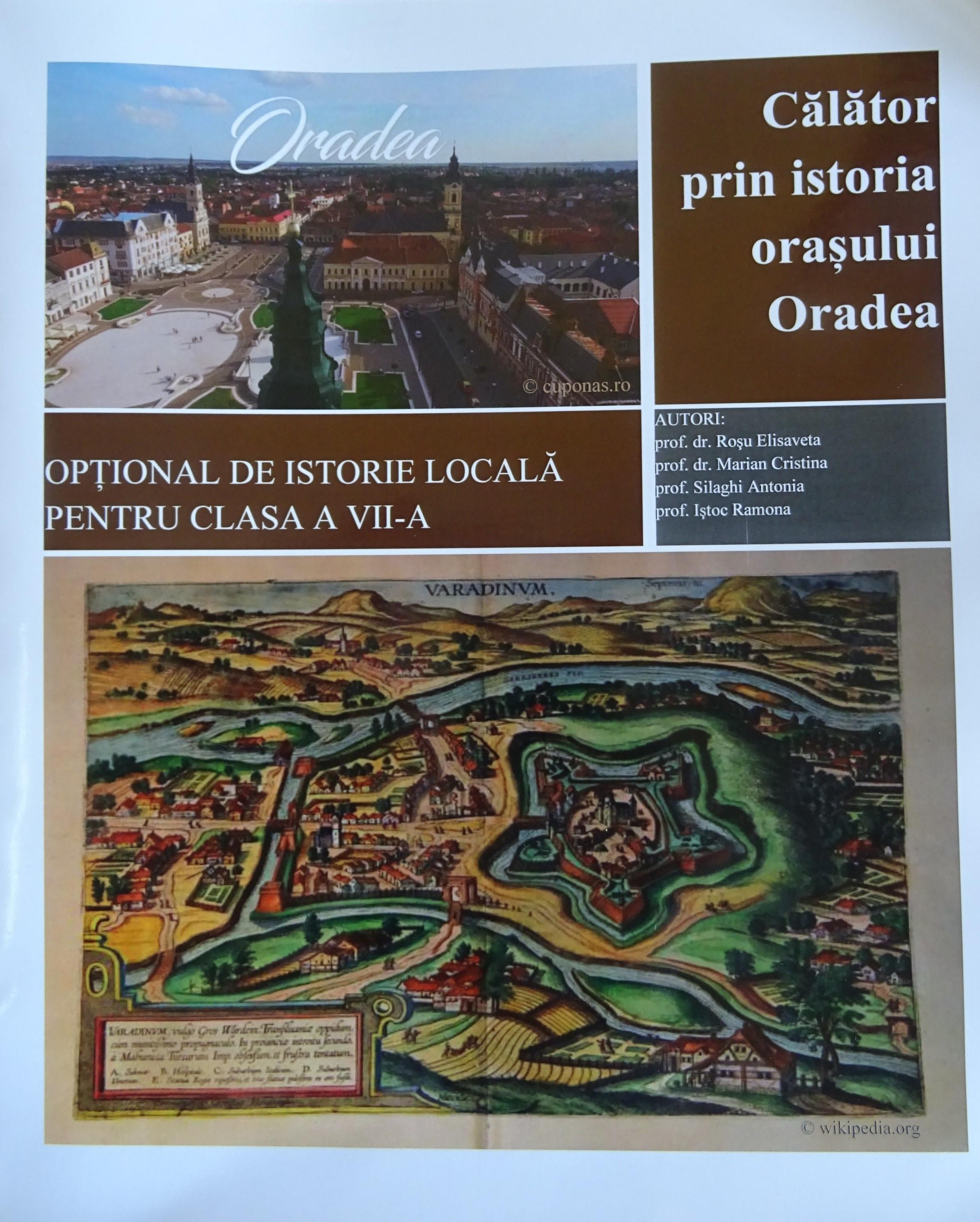 Manual de istorie a Oradiei