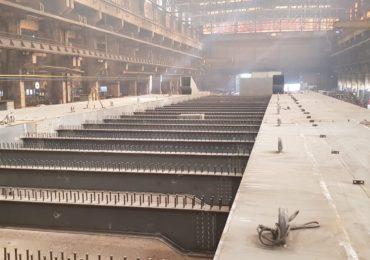 Saptamana viitoare incepe montarea structurii metalice la Podul Centenarului