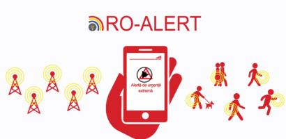 Autoritatile lanseaza aplicatia si site-ul RO-ALERT, destinate emiterii de alerte in caz de situatii de urgenta