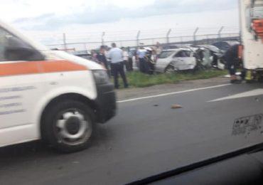 Cauzele accidentului de langa aeroport: Viteza prea mare!