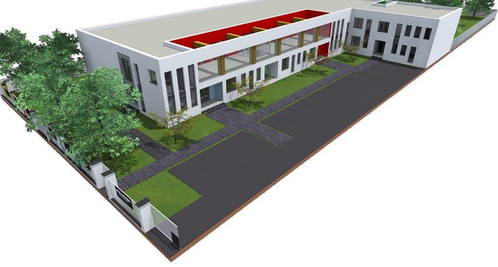 S-a semnat contractul de finanțare privind construirea unei creșe și a unei grădinițe în Parcul Industrial I