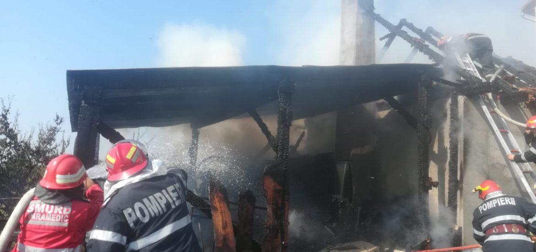 Semn? Incendiu la cladirea unei biserici din Marghita