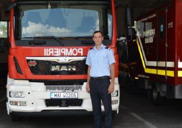 Pompier bihorean erou si in timpul liber, a salvat o femeie cazuta intr-o fantana!