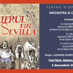 """Opera """"Barbierul din Sevilla"""" va aduce caldura, rasete si buna dispozitie in aceasta toamna! Figaro va veni la Oradea din orasul lui Mozart!"""