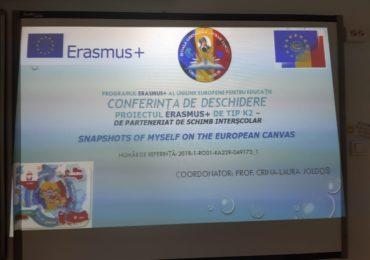 Conferinta erasmus+ Avram Iancu Oradea
