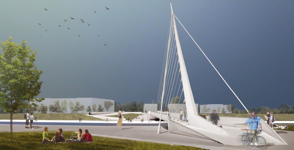 Pod Pietonal Oradea Aquapark - Clujului
