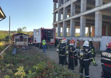 Exercitiu SEISM 2018. Peste 100 de pompieri bihoreni desfasoara misiuni pentru ajutorarea celor raniti (FOTO)