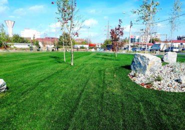 O noua zona verde de cca. 3.700 mp, in Oradea (FOTO)