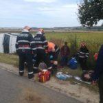Accident grav, soldat cu 5 persoane ranite, intre Chiribis si Tauteu, in judetul Bihor