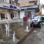 Dupa exemplul angajatilor RER, oradenii isi pot spala masinile pe Corso