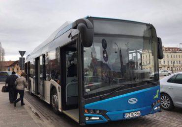 Inca sapte autobuze noi de tip Euro 6 si o aplicatie de mobil pentru transportul metropolitan, pe fonduri europene, in Oradea