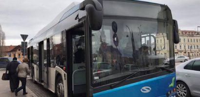 Cursã suplimentarã pe linia 13 de autobuz din Oradea, în zilele lucrãtoare cu şcoalã