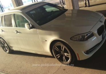 BMW furat in Italia retinut in Vama Bors, in timp ce soferul incerca sa-l introduca in tara