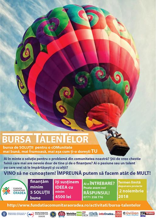 bursa talentelor 2018 cincea editie