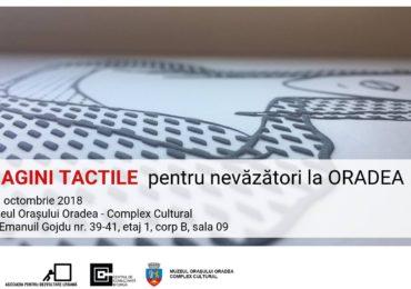 IMAGINI TACTILE pentru nevăzători (şi nu numai) la Muzeul Oraşului Oradea