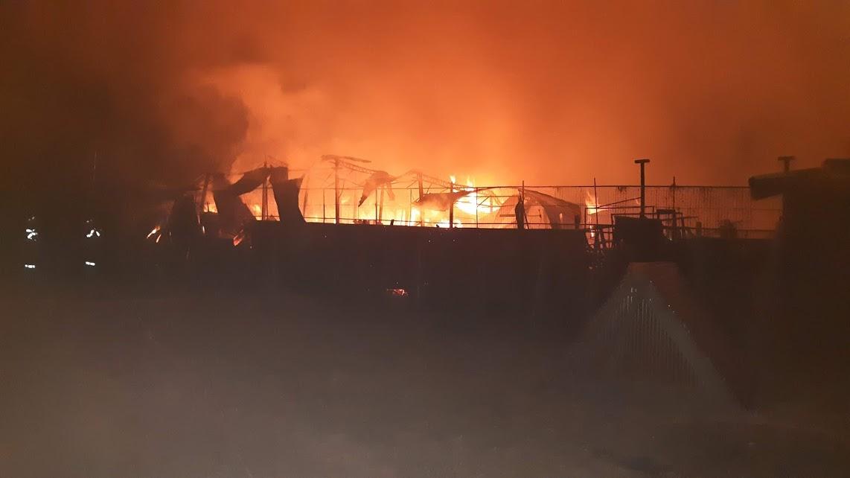 incendiu puternic salonta 21.10.2018