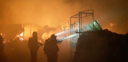Incendiu la o patiserie din Oradea, provocat de un cuptor defect