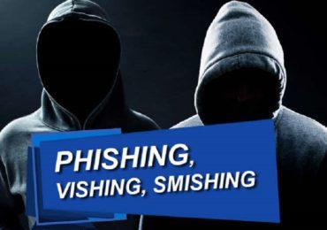 """Paşi de urmat pentru siguranţa în mediul virtual, în cazul fraudelor de tip """"Phishing/Smishing/Vishing"""" și """"Romance scam""""."""
