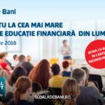 Eveniment de Cartea Recordurilor la Oradea. Ce mai mare lectie de educatie financiara din lume