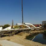 Podul Centenarului din Oradea prinde contur (FOTO)