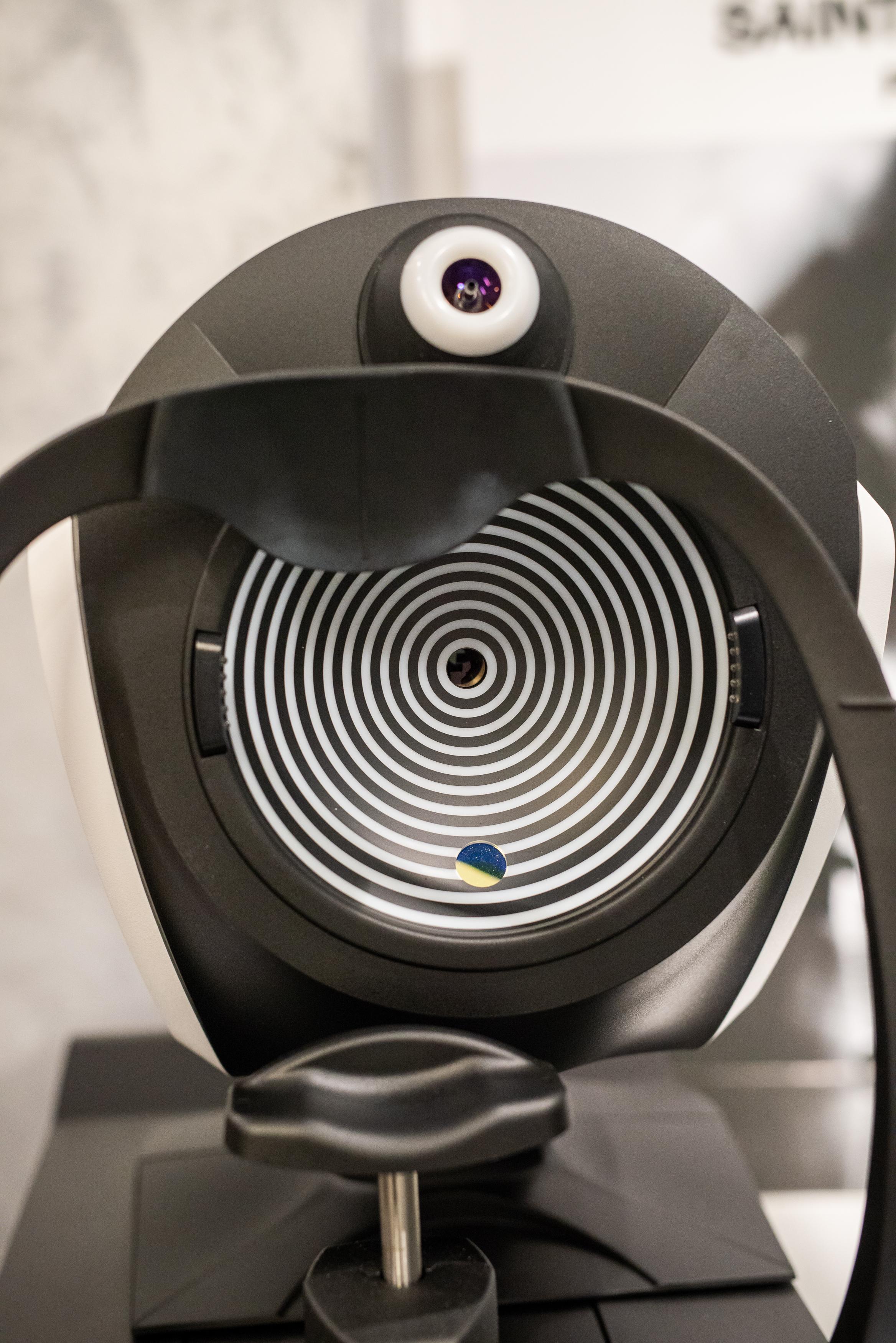scanner pentru analiza ochilor