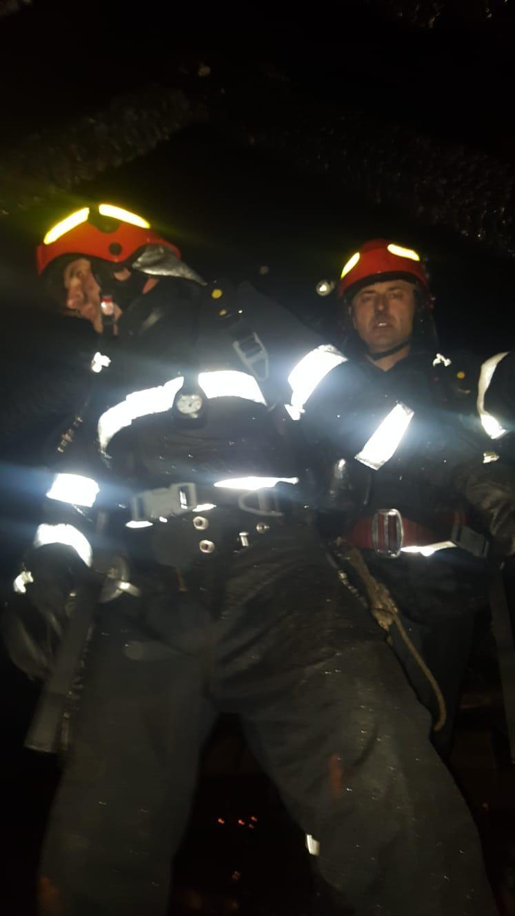 Incendiu strada Sofiei Oradea luni 12 noimebrie (2)