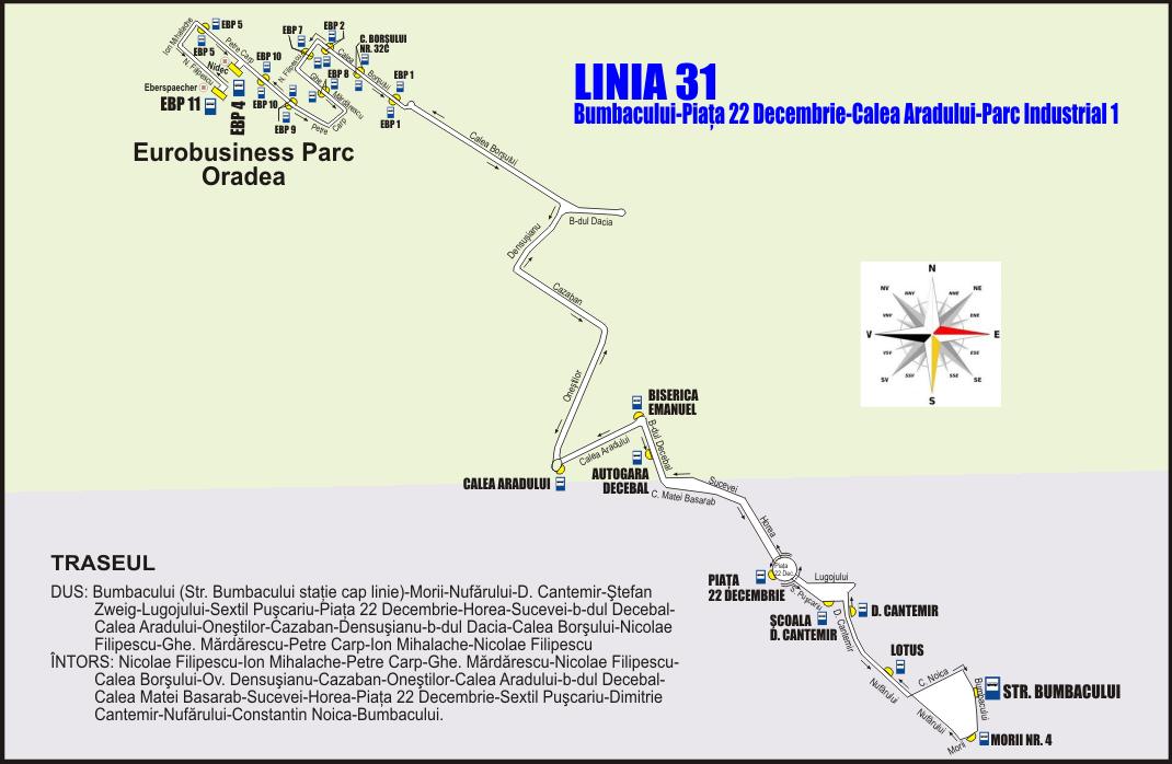 Linia 31 Oradea