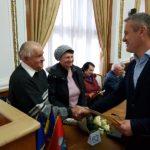 """62 de familii, care au sarbatorit """"Nunta de Aur"""", premiate cu cate 500 de lei de Viceprimarul Mircea Malan"""