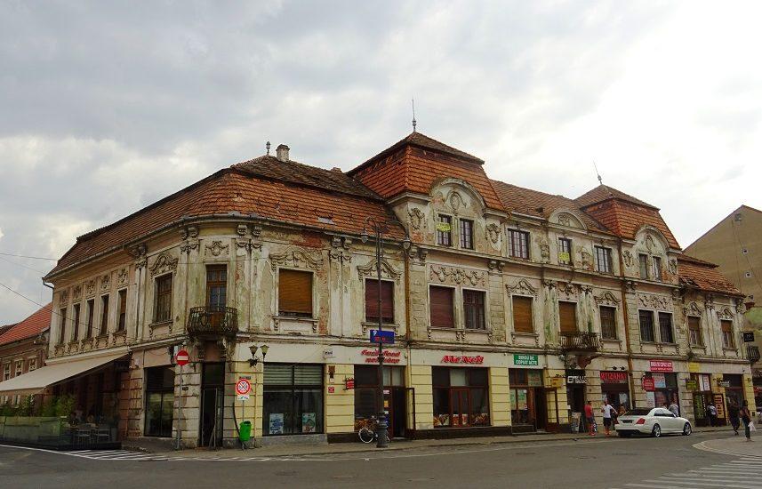 Inca o cladire istorica din Oradea va fi reabilitata. 600.000 de lei pentru Palatul Klobusitzky