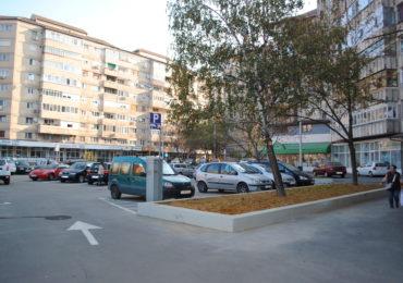A fost reamenajata parcarea de pe strada Transilvaniei (FOTO)