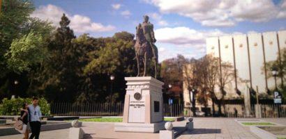 Piata Emanuil Gojdu isi va schimba denumirea in Piata Mihai Viteazul la 1 ianuarie 2024, odata cu finalizarea lucrarilor la pasajele rutiere subterane si relocarea statuii