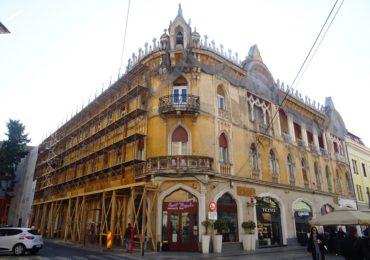 A inceput reabilitarea Palatului Rimanóczy Kálmán Senior