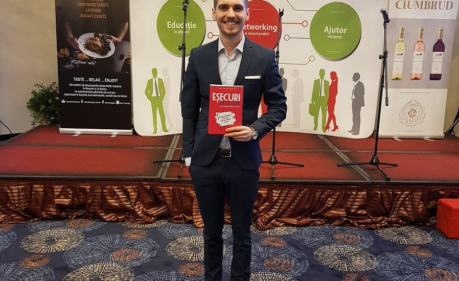 70 de povesti despre esecuri transformate in succes, culese intr-o carte de oradeanul Vlad Mocanu