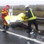 Bihorean mort intr-un accident dupa ce s-a rasturnat cu masina pe care o conducea, fara a avea permis, pe un camp