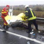 Concluziile IPJ Bihor fata de accidentul mortal de la Diosig. Neadaptarea vitezei la conditiile de drum. Cine este vinovat