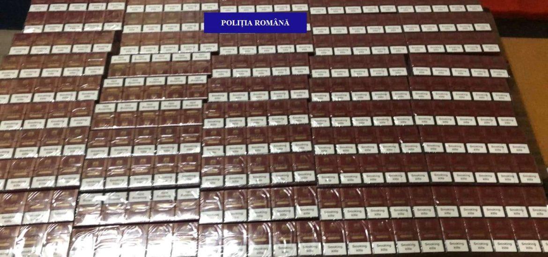 Un barbat din Salonta, prins de politistii bihoreni cu 500 de pachete de tigari nemarcate legal