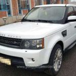 Land Rover de 20.000 de euro, retinut in Vama Bors. Avea seria de sasiu modificata