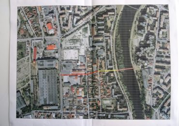 O noua zona pietonala si un nou pod pietonal peste Crisul Repede intre strada Aluminei si zona Infratirea