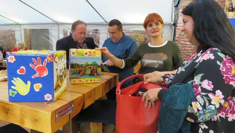 TOM Beer si DAS Oradea, proiect comun de responsabilitate sociala pentru achizitionarea de apartura de joaca pentru copiii din crese